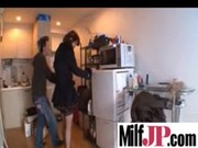 japanese milfs receives team-fucked really hard