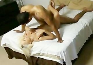 jacky beckham bangs her boyfriend