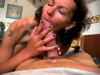 german wife engulfing and swallowing sperm