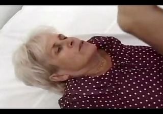 silver haired granny copulates