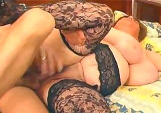 big breasty in lace nylons bonks bbw chubby bbbw