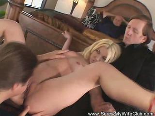 perverted swinger wife enjoys a stranger