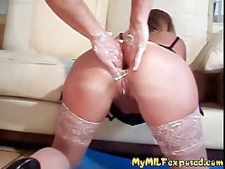 my mother i bare rough anal fisting of sexy mamma