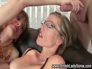 mature lady sonia fuck facial