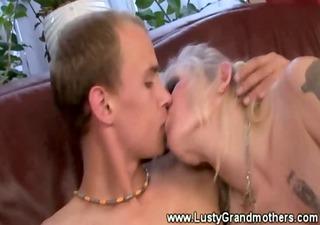 old mature gilf getting pussyeaten