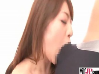 slutty japanese milf acquire group-fucked