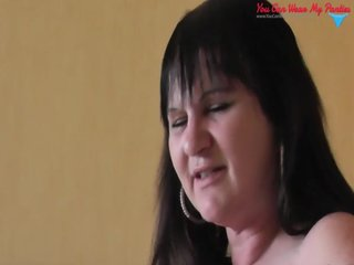 bawdy british wife ding-dong and cum overspread