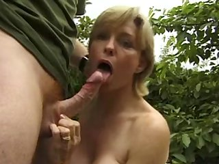 breasty aged outdoor anal