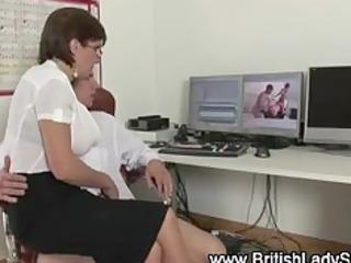 posh brit lady sonia sucks wang