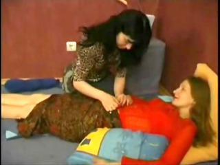 mother and daughter have lesbo sex
