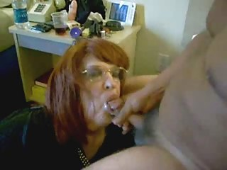 my sub wife eat my cum. home movie scene