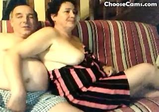 lewd grandma and grand-dad having pleasure