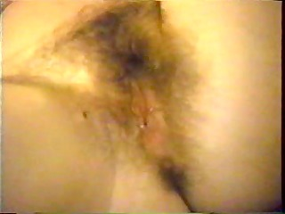 showing my hairy soaked cum-hole