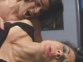 older curly 0 mature women fucked on table