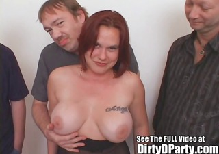 large titty cuties ramrod engulfing and pussy