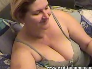 emily 79 years with big titties plays at home