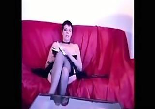 sexy aged lady masturbating