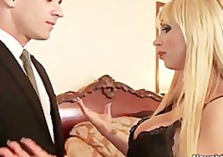 breasty blond nikki benz seduces boyfriends son,