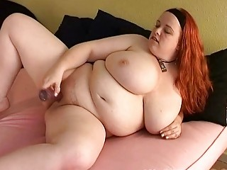 bust redhead mother i fatty toys her bulky cutn
