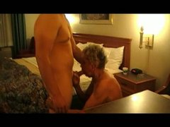 granny shirley receives fucked by the cougar