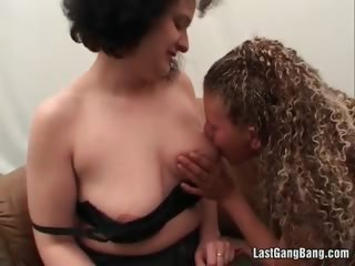 aged whores are enjoying in lesbo sex