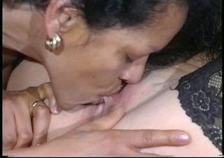 ladies licking ladies (clip)