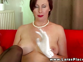older stocking women ding-dong fucking and can