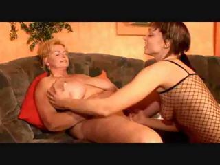 big beautiful woman lesbian granny and her