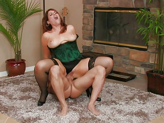 hot busty d like to fuck ryan banging in nylons